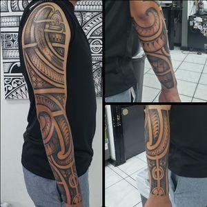 Polynesian/tribal sleeve
