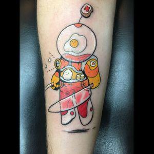 The eggstronaut.