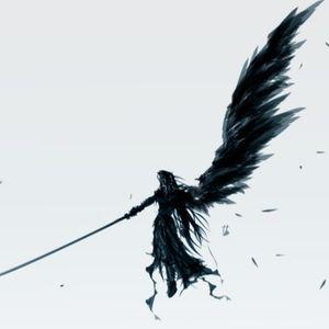Sephiroth silhouette