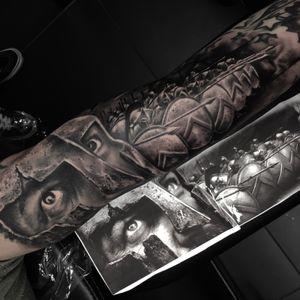 #leonidastattoo #300 #spartans #klodidoda_tattooist