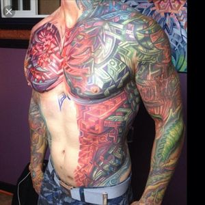 From: Google search- ireadfaux.com #MikeCole #Bio-mechanical #torso # sleeves