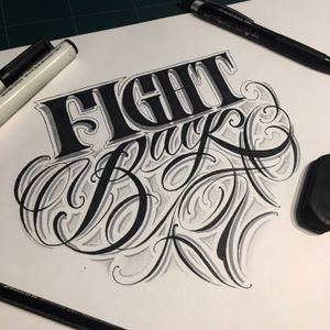 """Daily sketch- """"fight back"""""""
