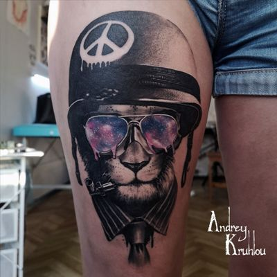 ##liontattoo #artoftattoo #tattooartistmagazine #tattooistartmag #tattoorealistic #rasta #smoke #blackandgray #art #artist #tattoostyle #tattoominsk #tattoo #tattoos #tattooed #tattooartist #tattooart #cosmostattoo #blackandgraytattoo #copycat #peace #AndreyKruhlou #animaltattoo #liontattoo #Minsk #blackandgray #graywash #lion #animal