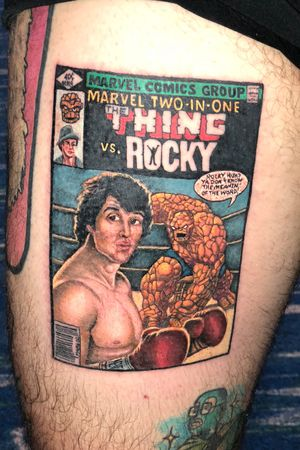 Thigh piece comic book cover by Jayvo Scott