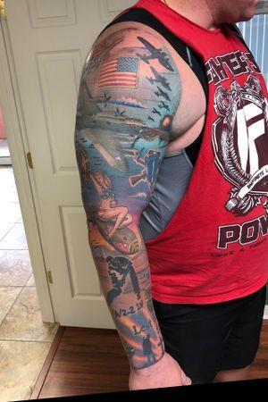 Full sleeve complete by Jayvo Scott