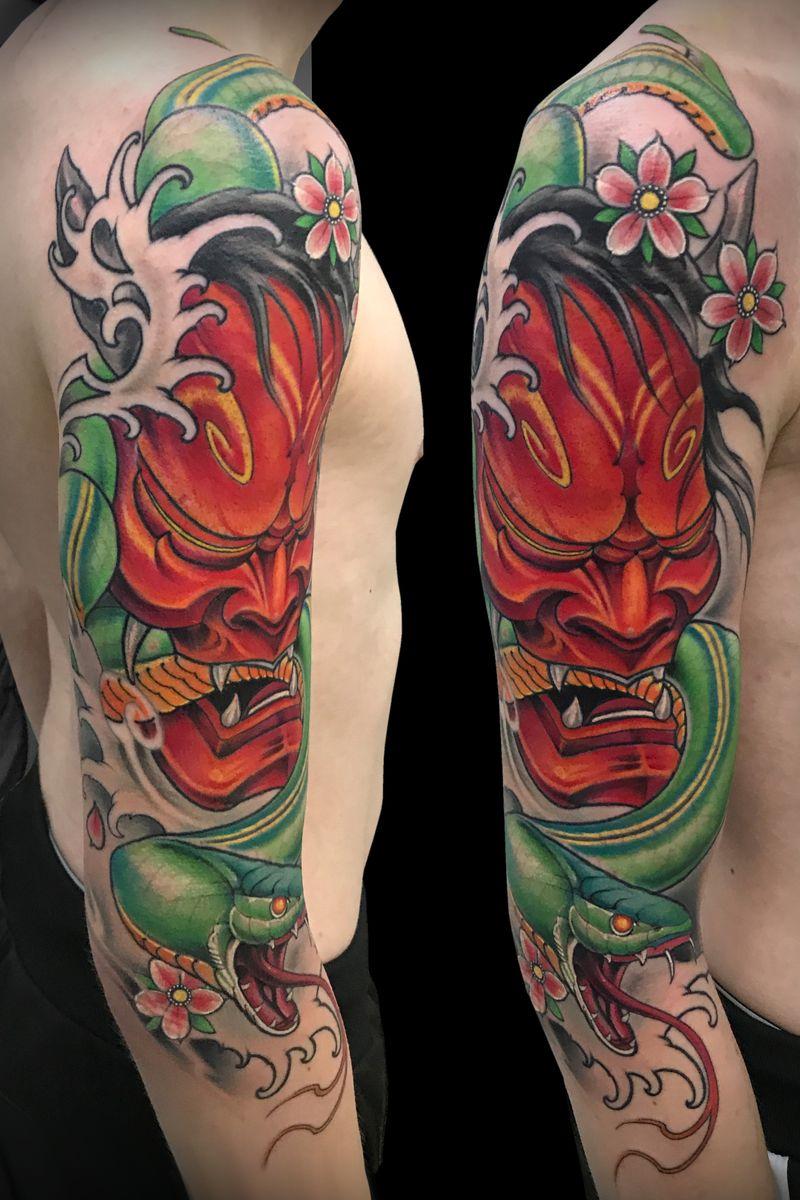Tattoo from Max Katsubo