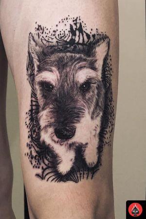 Posted @withrepost • @nestor_ace Yesterday's piece, In memory of clients dog. #dogportrait #dogportraittattoo #mansbestfriend • • • • • • • #vancouvertattoo#inked#tattooed#vancitytattoo#portrait#blackandgrey#vancouvertattooartist#vancouvertattooist#vancouver#commercialdr#mainstreettattoo#richmondbc #burnabybc #newwestminsterbc #langleybc #eastvancouver#vancouverrealistic#vancouverblackandgrey