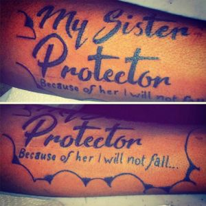 My sister protector $150