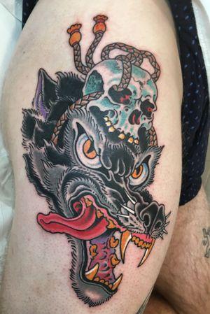 Done at classic Viareggio tattoo