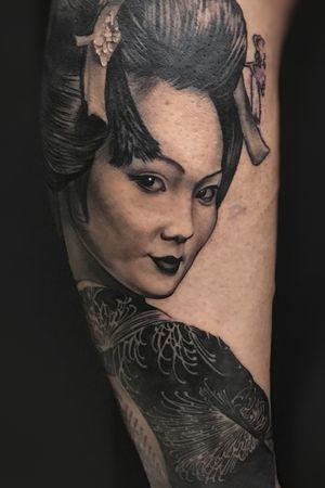 Geisha en proceso.