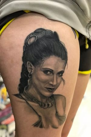 All healed up! Princess Leia, one more session to add a few more details and the white highlights and this one is done