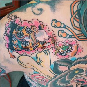 Fun little gap filler on the lovely @tuyen_tattoos ! #melbournetattoo #tatsoul #tattoodoambassador #mousetattoo #australiantattoo