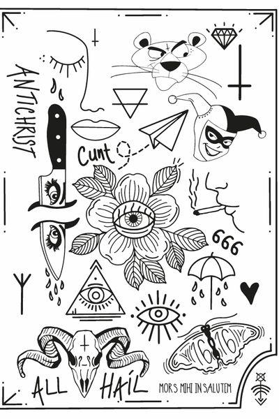 #graphic #tattoo #artwork #art #design #graphicdesign #tattooart #illustration #artist #draw #drawing #blackwork #adriantaheri #mymoleskine #tattoos #tatt #tattooideas #tatto #tattoostyle #tattoosthlm #tattoostockholm #stockholmtattoo #blacktattoo #blacktattooart #fineliner #inked #weirdtattooes #flash #flashtattoo #eye #eyetattoo #flower #flowersrr #666 #goat #goathead #goatskull #cunt # #cigarette #paperplanen