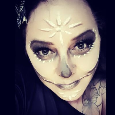 #calavera #catrina #diadelosmuertos #tattoo #flowertattoos