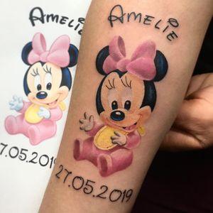 #minniemouse #tatuazh #stuttgart #tattoo #klodidoda_tattooist #fullcolor #fullcolortattoo