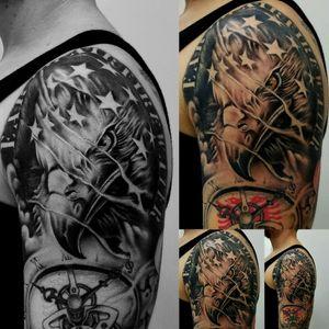#eagletattoo #americaneagle #americaneagletattoo #tattooartistmagazine #tattooartist #tattooart #tattoo #tatoo #tato #tatu #tatouages #tatouage #tatuaje #tatuagem #startatoo