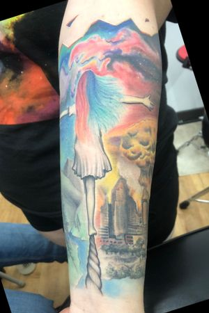 Tattoo from Benjamin Barreto