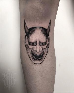 Tattooed recently beneath the knee from my flash, thanks Mel! 🖤 #tattoodoambassador