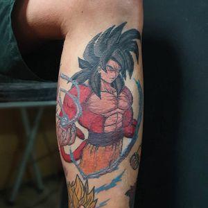 Goku SSJ4. Parte de un proyecto con personajes de Dragon Ball Z.