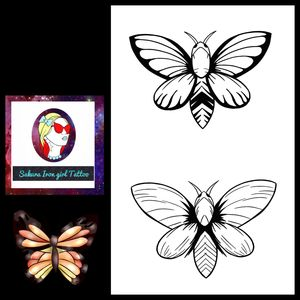 Deux jolis papillons. D'autres couleurs sont à venir @sakurairongirltattoo #tattooflash #flashtattoo #magic #dark #tattoofrance #francetattoo #butterfly #papillon #inktober2019 #graphictattoo #tattoographic #tattoocolor #tatoo #tattoos #tatouage #tatouages #tattoodo #neotradtattoo #neotraditionalfrance #neotraditionaleurope #frenchtattooflash #instapic #flash