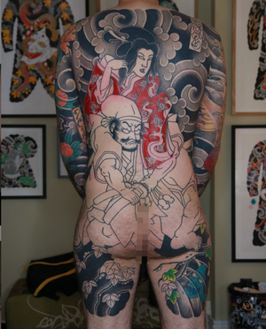 #japanesetattoo #irezumi #horimono #tattoos #tattoouk #tattoolondon #lucaortis #tattoodo #instatattoo #tattoos #tattooart #tattoolife #lucaortisprogress