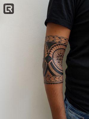 #raskinstyle #black #freehand #Polynesian