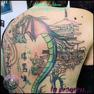 We keep going this back with an Asian style... 🐉 🥢 🏯 🐉🥢🏯🐉🥢🏯🐉🥢 #tattoo #tatuaje #tatouage #asianstyletattoo #tatuajeestiloasiatico #tatouagestyleasiatique #backtattoo #fullbacktattoo #tatuajeespaldacompleta #tatouagedos #tatouagedoscomplet #japanesestyletattoo #tatuajeestilojapones #tatouagestylejaponais #japanesetempletattoo #tatuajetemplojapones #tatouagetemplejaponais #japanesetemple #templojapones #templejaponais #tattoodo #tattoolover #tattoolovers #ferneyvoltaire #tattooferneyvoltaire