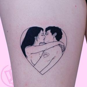 Eternal love done at @thechurchworkshop with love ? #tattoodo #sadamish #love
