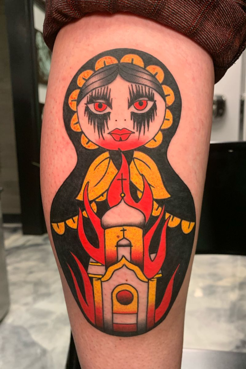 Tattoo from Marty Boe