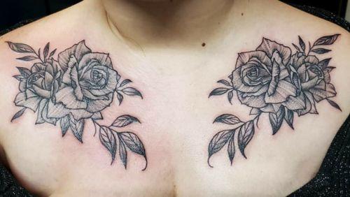 Pepper shaded Roses