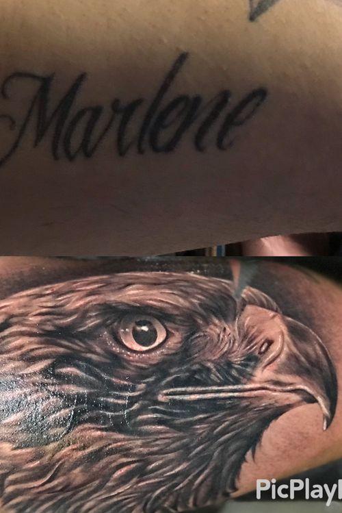 #coverup #eagle #grifostylotattoo #grifostylo #tat2life #puravida  #elvicio #lb #fkiron #empireink #Cheyennecartridges #itsnotmyjobitsmylifestyle #inkceremony #mexicanochingandolecabron #puravida #SJ #tattooartist #lifestyle #tattoos #Bayarea  #eldeguadalajara #guanatos #guadalacalifornia deguadalajarapalmundo #artetapatio #ritualdedolor #orale #ayloswacho (I don't have the rights for the music) Facebook @chava grifo Stylo Padilla @grifo Stylo Tattoos  Instagram @grifotat2s  Twitter @grifo_stylo  YouTube grifo Stylo