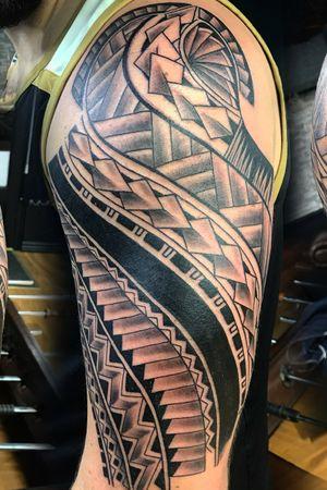Maori start of a sleeve