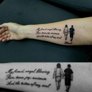 #scripttattoo #dedicationtattoo #tattoolove #tattoofriend #tattooartistmagazine #tattooartist #tattooart #tattooidea #tattoo #tatoo #tato #tatu #tatouages #tatouage #tatuaje #tatuagem