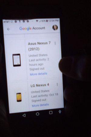 LG phone phone