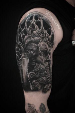 Мой проект ⚔️. #tattoo #kapiktattoo #realistictattoo #tattoos #tattooink #inktattoo #blacktattoo #tattookiev #kiev #kievtattoo #tattooartist #tattookapik #tattooing #tattoostyle #tattooist #tattooideas #the_tattooed_ukraine ukraine #tattoo_masters_ukraine #tattooukraine #ink #tattooink #inked #inktattoo