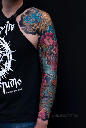 Japanese Tattoo NYC. #japanesetattoo #irezumi