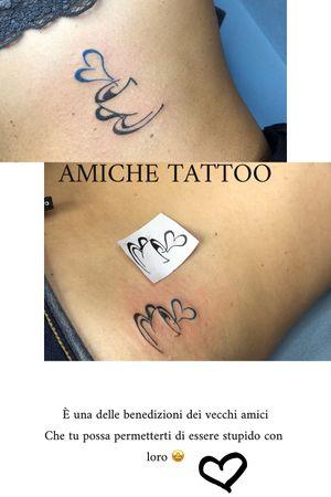 Tatuaggio amiche!