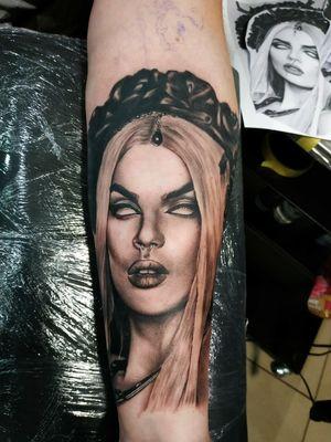 Black and Grey tattoo My work