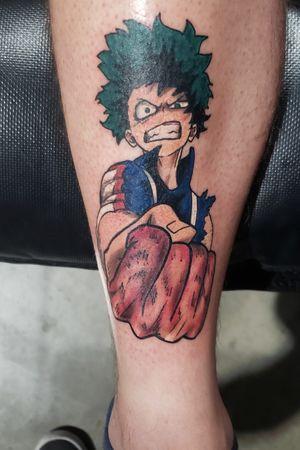 Finished up day two of @animeink_con with #deku from #mha Artist: Nic Mann Shop: Sacred Expressions @sacredexpressionsgr Made with @worldfamousink @hivecaps @fkirons @saniderm @electrumsupply @criticaltattoosupply @allegoryink @blackclaw @craveinktherapy #sacredexpressions #tattoo #tattooed #tattoosbynicmann #ink #inked #inkedup #shapecraft #instatattoo #inkstagram #tattoosnob #tattoostudio #tattoolife #tattoogram #instatatt #picoftheday #tattoooftheday #grandrapidstattooer #grandrapidstattoo #michigantattooers #instagood #blacktattoo #animetsttoos #animetattoo #colorful #myheroacademia #Izuku #Midoriya