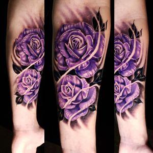 #maydaytattoosupply #eternalink #helios #blackandgreyrealism #realism #colortattoo #colorrealism #rosestattoo #roses
