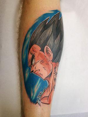 #dragonballtattoos #tattoo #tatouage #legtattoo #dragonballtattoo #colortattoo #tattoodo #tattoodoapp #awesometattoo #besttattoo #colortattoo #newschooltattoo