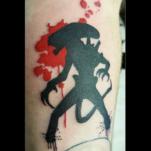 Alien Xenomorph tattoo