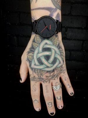 Tattooed my own hand!