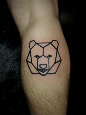 #geometrical #geometric #modern #bear #ours