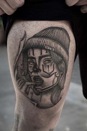 Payasa tattoo availability always message me for more info!!!#bnginksociety #blackandgrey #chicano #mexican #california #blackandgreytattoo