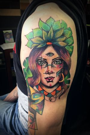 Mujer selva