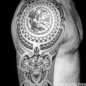 #antoniomai #amaitattoo #losangeles #Tribal #Polynesian #Maori #Samoan #Geometric #DotWork #BlackWork #OldSchool #Traditional #Japanese #Irezumi #FineLine #Ornamental