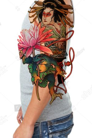 Looking for client want this piece for special price,placement-3/4sleeve full color.Contact studio:Holy art tattoo studio Phuket,Alex
