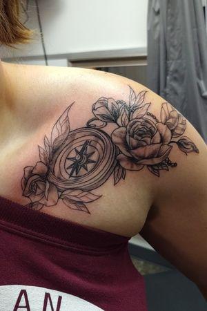 #compassrose #rose #shoulder