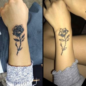 #rose #fixup #redo #dontgetbasmenttattoos